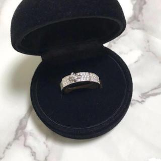 エルメス(Hermes)の高品質  指輪 トラベルジュエリー ハーフエタニティ エンゲージリング 上質 (リング(指輪))