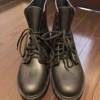 メンズ レインブーツ 未使用 ブラック(長靴/レインシューズ)