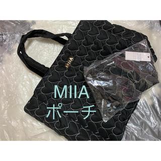 ミーア(MIIA)のMIIA ハートキルティングポーチ【新品未開封】(ポーチ)