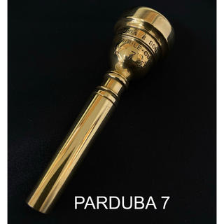 Parduba Double cup 7 トランペットマウスピース(トランペット)