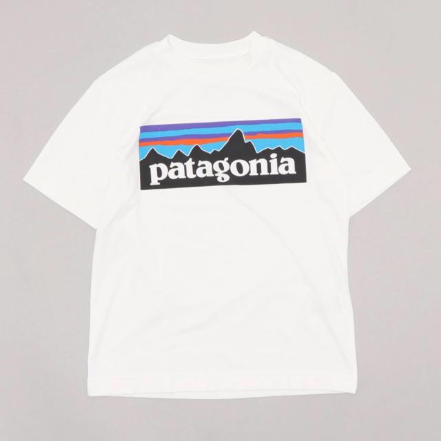 patagonia(パタゴニア)の美品 Patagonia キッズ Tシャツ キッズ/ベビー/マタニティのキッズ服女の子用(90cm~)(Tシャツ/カットソー)の商品写真