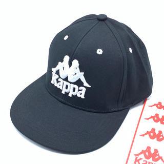 カッパ(Kappa)の【新品】KAPPA キャップ ブラック ロゴ入り(キャップ)