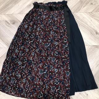 オリーブデオリーブ(OLIVEdesOLIVE)のオリーブデオリーブ 花柄 ロングスカート(ロングスカート)