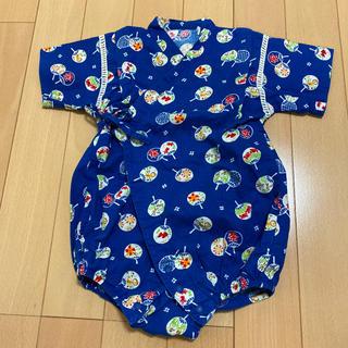 ニシマツヤ(西松屋)のロンパース型甚平 80(甚平/浴衣)