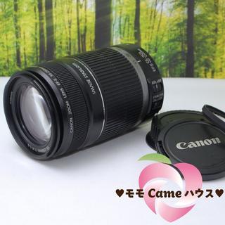 キヤノン(Canon)のキャノン望遠レンズ★EF-S 55-250mm手ブレ補正つき☆847-1(レンズ(ズーム))