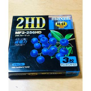 マクセル(maxell)の☆maxell 2HDフロッピーディスク 3枚☆(PC周辺機器)