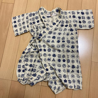 ロンパース 甚平 80(甚平/浴衣)