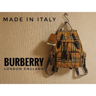 BURBERRY - 【早い者勝ち!】BURBERRY(バーバリー)☆新品未使用☆ヴィンテージチェック