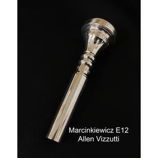 Marcinkiwicz マーシンキウィッツ E12 トランペット マウスピース(トランペット)