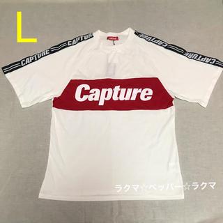 アベイル(Avail)のcapture キャプチャー tシャツ L 袖テープ(Tシャツ/カットソー(半袖/袖なし))