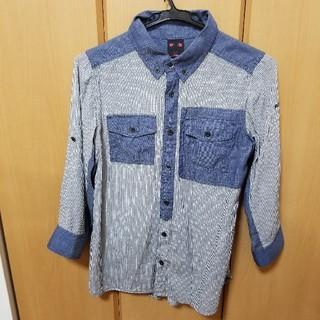 X-girl - エックスガール。七分袖。シャツ