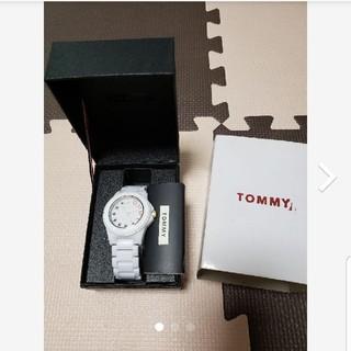 トミー(TOMMY)のトミー TOMMY 腕時計 白(腕時計)