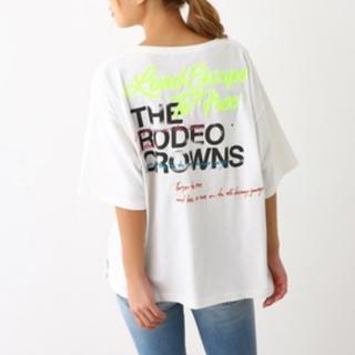 RODEO CROWNS WIDE BOWL - ☆0528バースデーTシャツ ホワイト☆RCWB