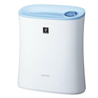 シャープ(SHARP)の★即日発送★ SHARP 空気清浄機 プラズマクラスター 消臭 薄型 ブルー(空気清浄器)