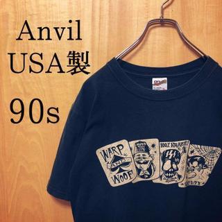 アンビル(Anvil)の【USA製】90s Anvil Tシャツ(Tシャツ/カットソー(半袖/袖なし))