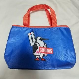 チャムス(CHUMS)のpepsi×CHUMS ペプシ チャムス オリジナル 保冷バッグ ランチバッグ(弁当用品)