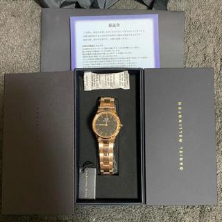 ダニエルウェリントン(Daniel Wellington)の【28㎜】ダニエル ウェリントン腕時計 Iconic Link     (腕時計)