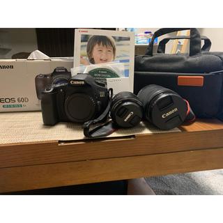 キヤノン(Canon)のEOS 60D(コンパクトデジタルカメラ)