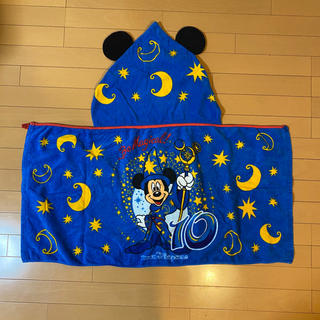"Disney - ディズニー10th Be Magical!"" フード付きタオル"