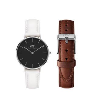 ダニエルウェリントン(Daniel Wellington)の【32㎜】ダニエル ウェリントン腕時計 DW284+ベルトSET《3年保証付》(腕時計)