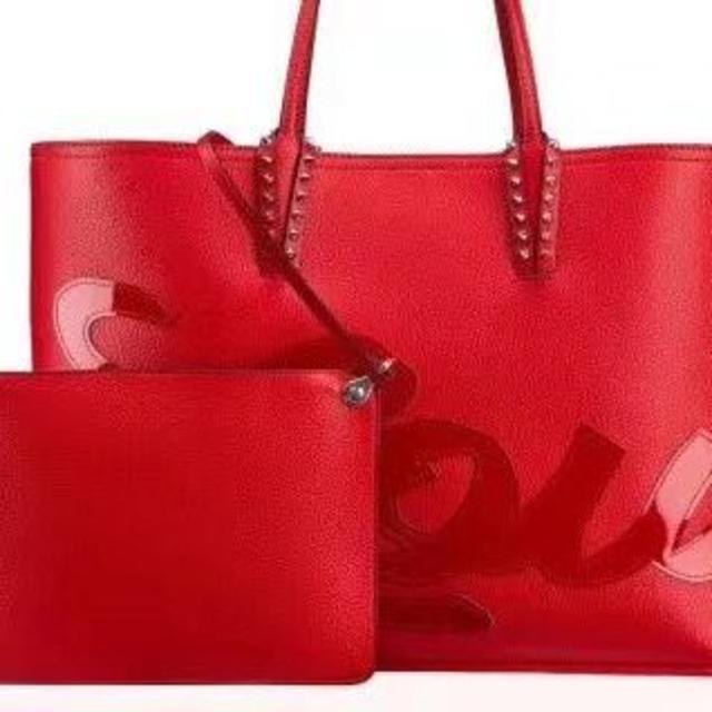 Christian Louboutin(クリスチャンルブタン)の2020新品 クリスチャンルブタン カバタ トートバッグ レディースのバッグ(ハンドバッグ)の商品写真