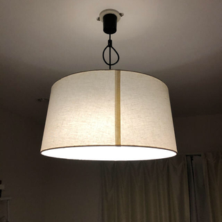 天井照明 円形ライト 50センチ×24センチ オフホワイト(天井照明)
