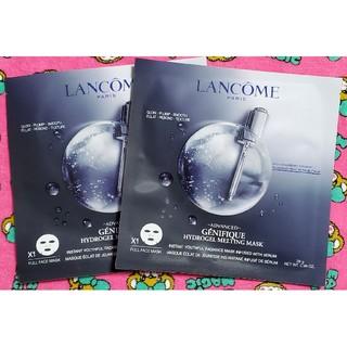 ランコム(LANCOME)のランコム ジェニフィックアドバンスト ハイドロジェル メルティングマスク 2枚(パック/フェイスマスク)