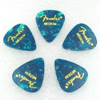 フェンダー(Fender)のFender  ピック OCEAN TURQUOISE 5枚(エレキギター)