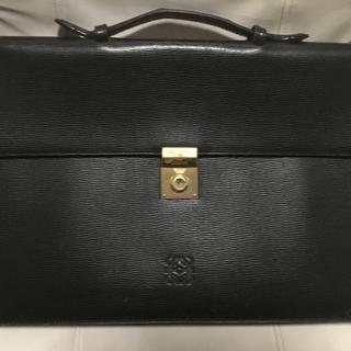 LOEWE - ロエベ LOEWE 書類鞄 レザー バッグ カバン鍵付き