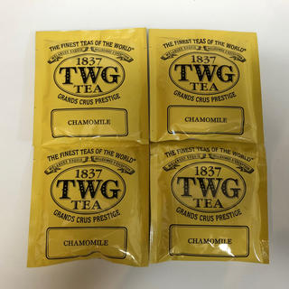 TWG TEA 紅茶 カモミール 4個(茶)