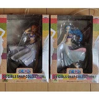 バンプレスト(BANPRESTO)のワンピース DX GIRLS SNAP COLLECTION1 ナミ&ビビ(アニメ/ゲーム)
