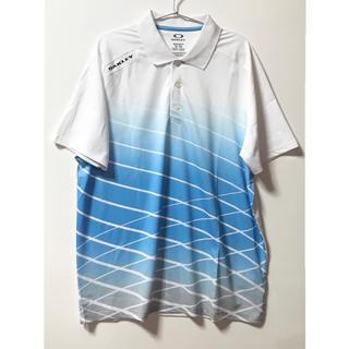オークリー(Oakley)のオークリー ゴルフウェア ポロシャツ XL メンズ 半袖(ウエア)