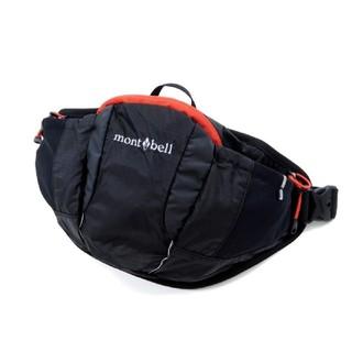 モンベル(mont bell)の新品 mont-bell モンベル 軽量 ウエストポーチ 黒(登山用品)