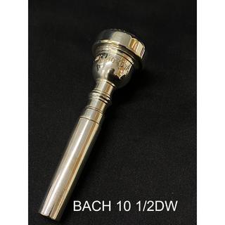 Bach 10 1/2DW トランペット マウスピース(トランペット)
