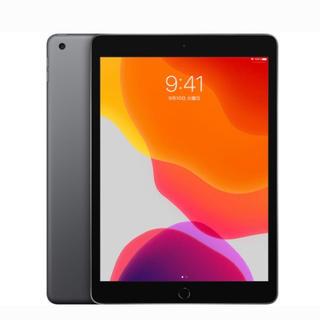 アイパッド(iPad)のiPad Wi-Fiモデル 第7世代 MW772J/A スペースグレイ 128G(タブレット)