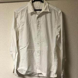 エディフィス(EDIFICE)のEDIFICE ホワイトシャツ メンズ(シャツ)