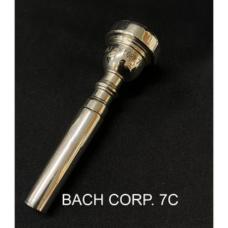 Bach corp. 7C トランペット マウスピース(トランペット)
