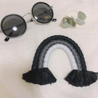 レインボータペストリー ブラック(インテリア雑貨)
