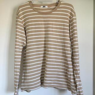 ユニクロ(UNIQLO)のUNIQLO ボーダー 長袖Tシャツ(Tシャツ/カットソー(七分/長袖))