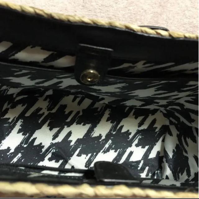 kate spade new york(ケイトスペードニューヨーク)のケイトスペード  kate spade カバン ベージュ  鞄 かごバック 黒 レディースのバッグ(トートバッグ)の商品写真