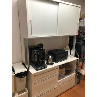 食器棚 ホワイト(キッチン収納)