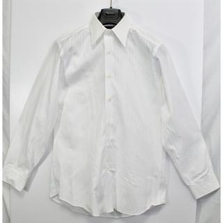 シップス(SHIPS)の[美品] SHIPS シップス ドレスシャツ 無地 白 トップス サイズ42(シャツ)