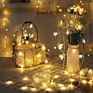 クリスマスイルミネーション 星型装飾LEDライト(蛍光灯/電球)