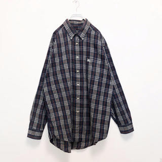 BURBERRY - バーバリー ノバチェックシャツ L