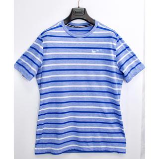 ナイキ(NIKE)の[美品] ナイキ NIKE スポーツ ウェア Tシャツ トップス ボーダー L(ウェア)