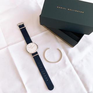 ダニエルウェリントン(Daniel Wellington)のDANIELWELLINGTON 腕時計&バングル(腕時計)