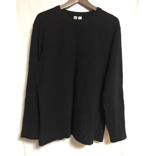ユニクロ(UNIQLO)のUNIQLO U ポケットTシャツ(Tシャツ/カットソー(七分/長袖))
