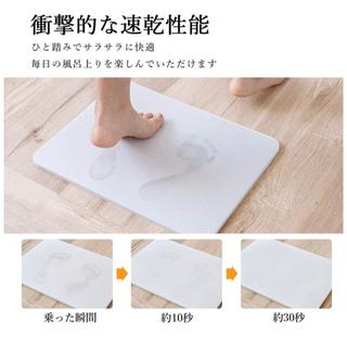 【新品】珪藻土バスマット (バスマット)