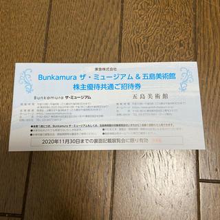 Bunkamura ザ ミュージアム 招待券(美術館/博物館)