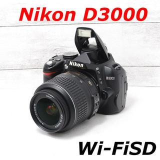 ニコン(Nikon)の❤️カメラバッグ付き❤️スマホ転送❤️Nikon D3000(デジタル一眼)